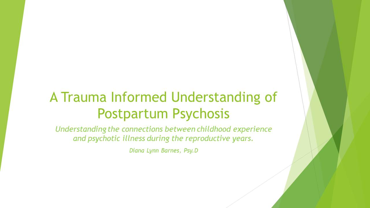 Barnes. PSI PPP and trauma informed understanding