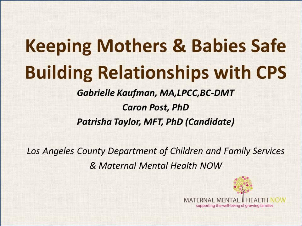 Kaufman.KEEPING MOMS & BABIES SAFE 5-5-16