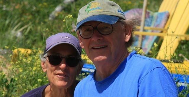 Dr Kruckman and Carolyn White