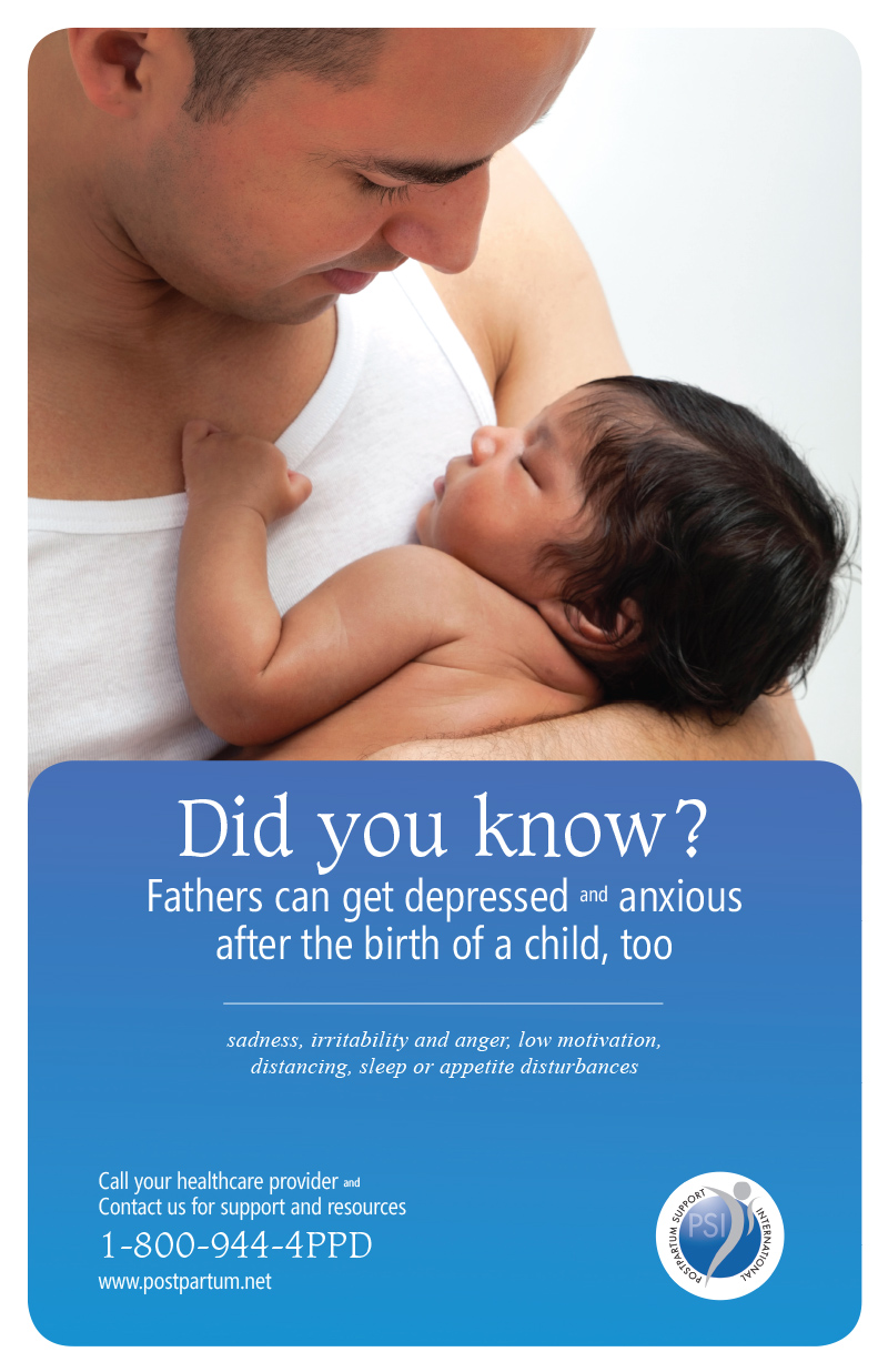PSI Dads poster in English