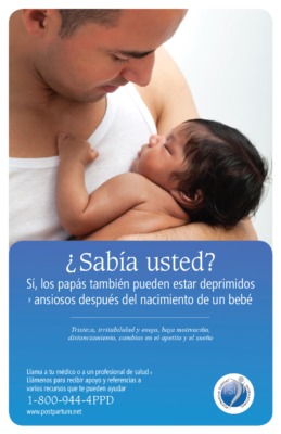PSI Dads poster in Spanish